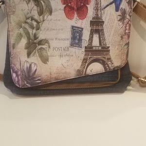 Owl back pack & postal purse